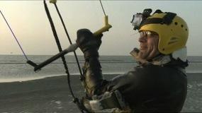 Mit 100 Sachen übers Meer - Rekordjagd an der Küste